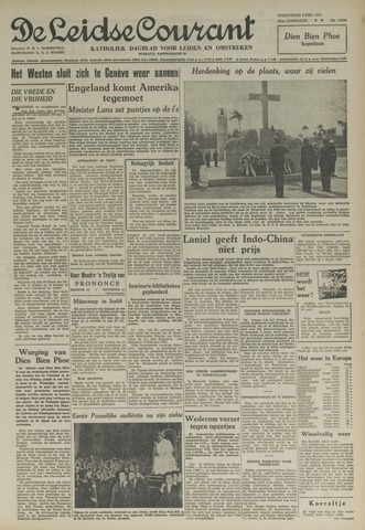 Leidse Courant 1954-05-05