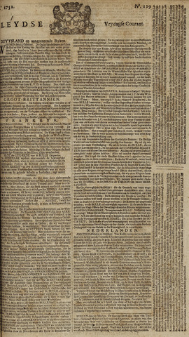 Leydse Courant 1752-10-27
