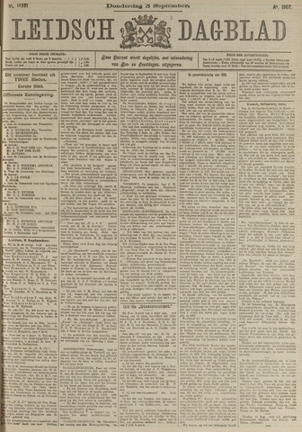 Leidsch Dagblad 1907-09-05