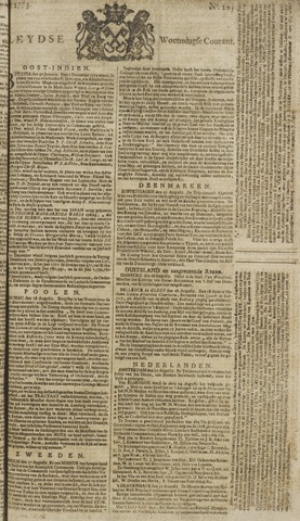 Leydse Courant 1773-09-01