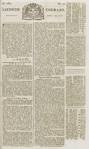 Leydse Courant 1825-03-07
