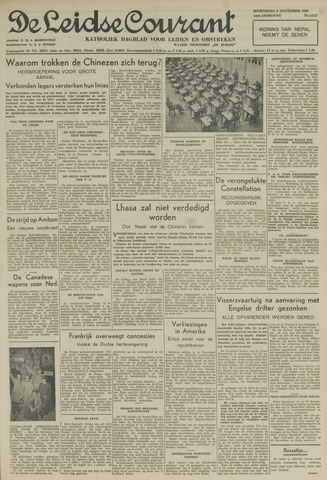Leidse Courant 1950-11-08