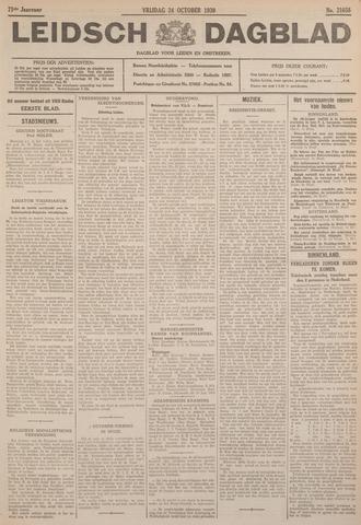 Leidsch Dagblad 1930-10-24