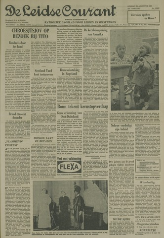 Leidse Courant 1963-08-20