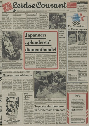 Leidse Courant 1984-08-08
