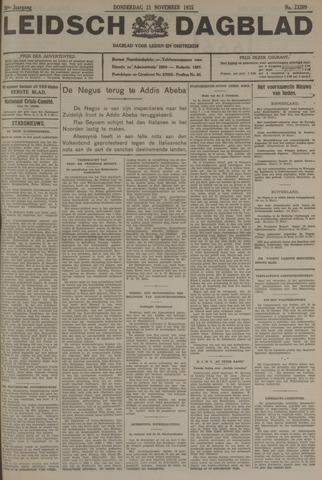 Leidsch Dagblad 1935-11-21