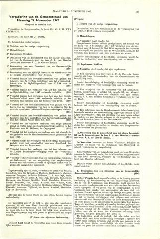 Handelingen van de Raad 1947-11-24