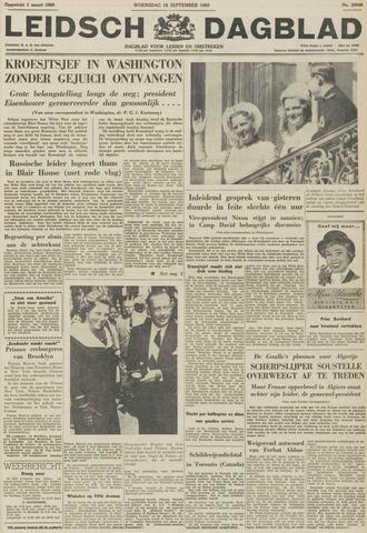 Leidsch Dagblad 1959-09-16