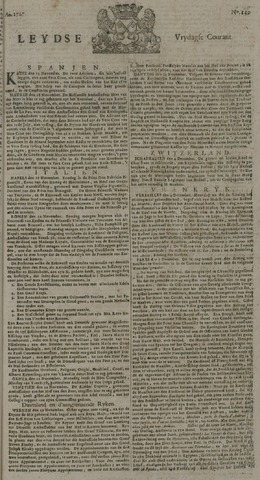 Leydse Courant 1727-12-12