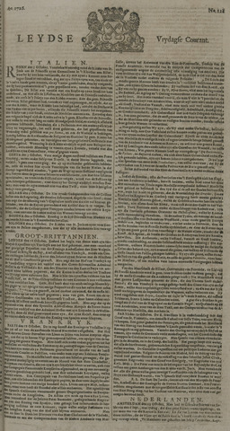 Leydse Courant 1726-10-25