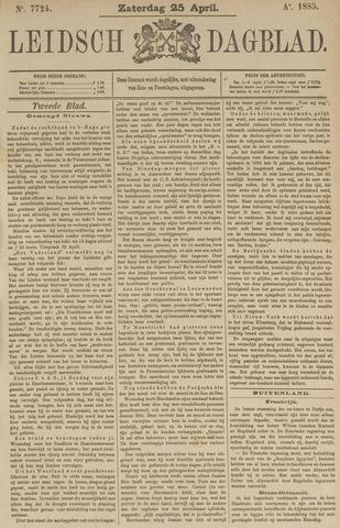 Leidsch Dagblad 1885-04-25