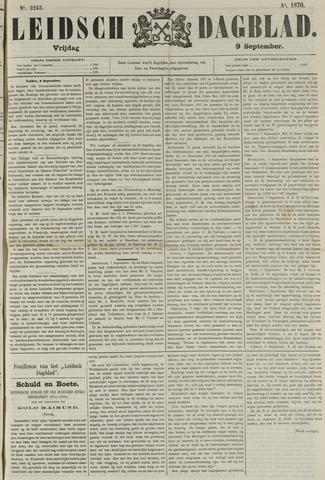 Leidsch Dagblad 1870-09-09