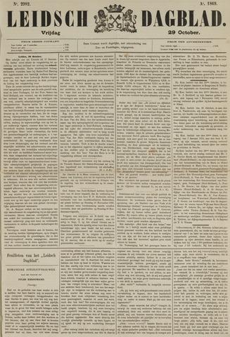 Leidsch Dagblad 1869-10-29