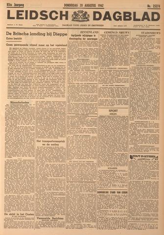Leidsch Dagblad 1942-08-20