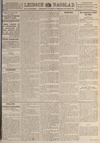 Leidsch Dagblad 1921-08-19