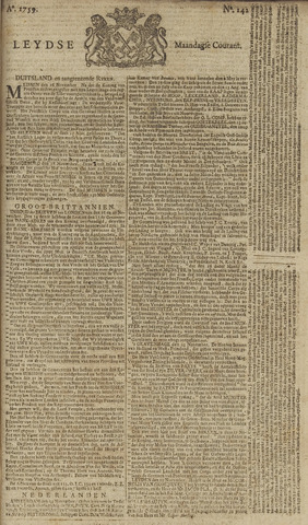 Leydse Courant 1759-11-26