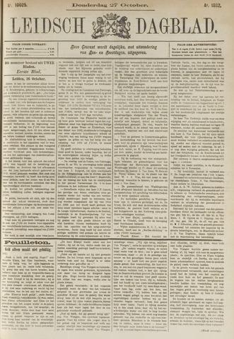Leidsch Dagblad 1892-10-27