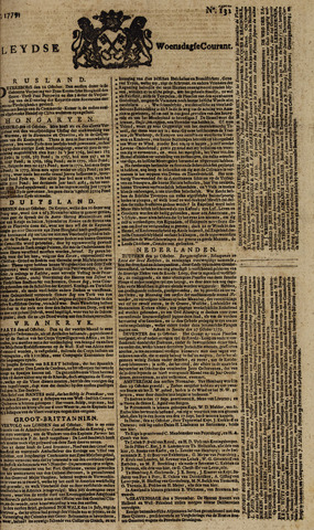 Leydse Courant 1779-11-03