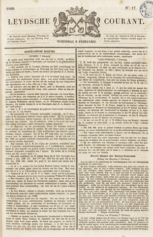 Leydse Courant 1860-02-08