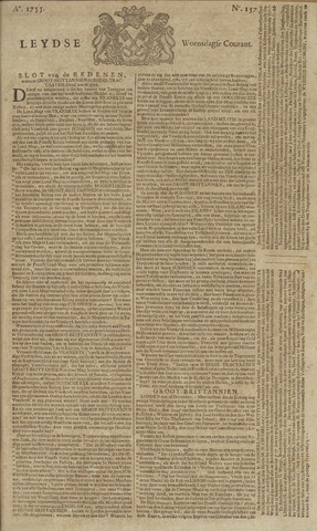 Leydse Courant 1755-12-31