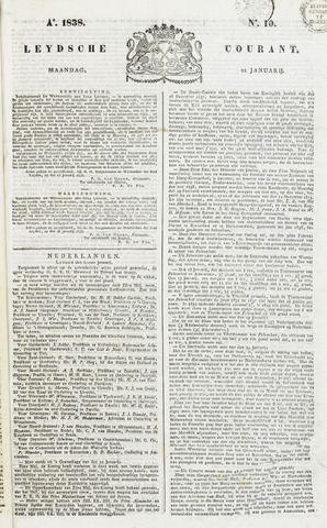 Leydse Courant 1838-01-22