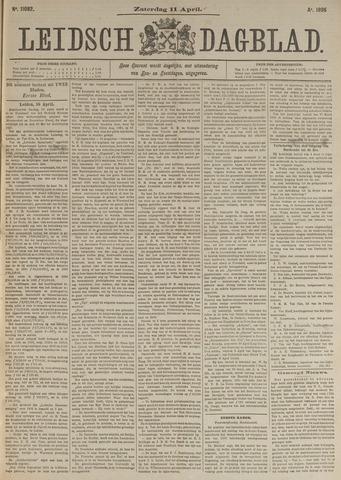 Leidsch Dagblad 1896-04-11
