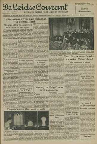 Leidse Courant 1952-08-11