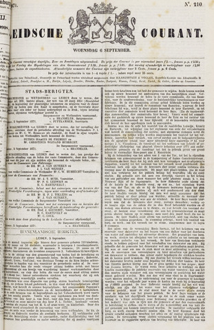 Leydse Courant 1871-09-06