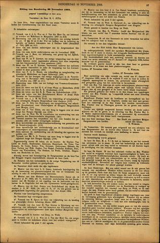 Handelingen van de Raad 1893-11-30