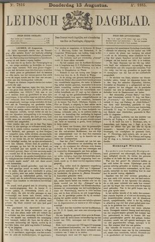 Leidsch Dagblad 1885-08-13