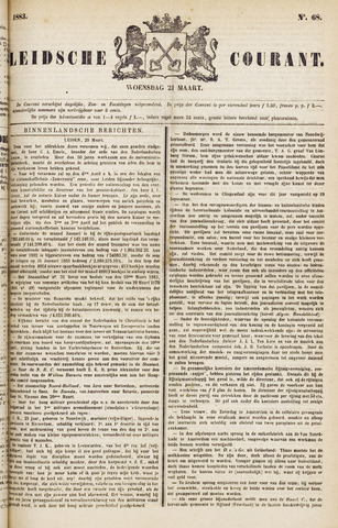 Leydse Courant 1883-03-21