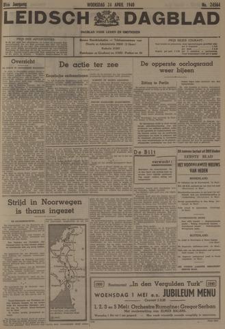 Leidsch Dagblad 1940-04-24
