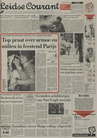 Leidse Courant 1989-07-14