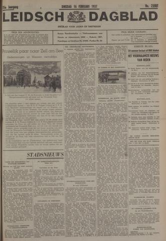 Leidsch Dagblad 1937-02-16
