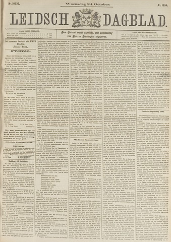 Leidsch Dagblad 1894-10-24