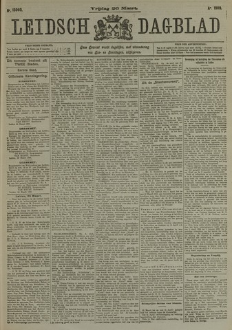 Leidsch Dagblad 1909-03-26