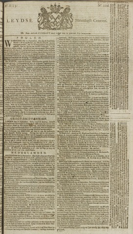 Leydse Courant 1773-09-27