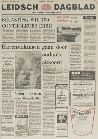 Leidsch Dagblad 1979-09-05