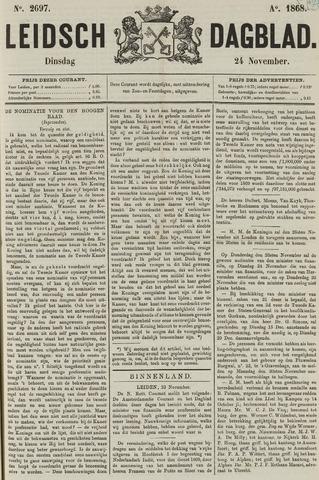 Leidsch Dagblad 1868-11-24