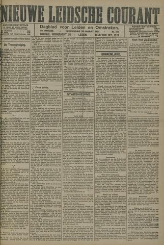 Nieuwe Leidsche Courant 1921-03-30