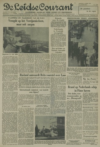 Leidse Courant 1961-04-04