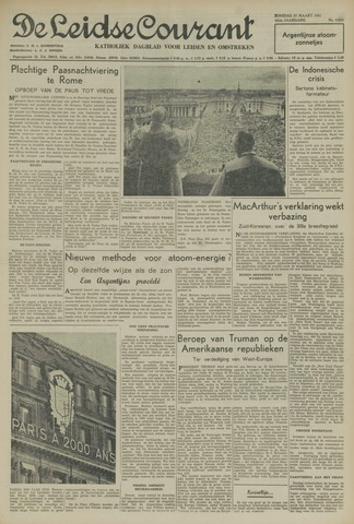 Leidse Courant 1951-03-27