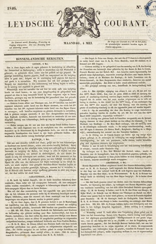Leydse Courant 1846-05-04