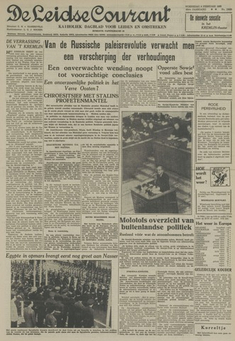 Leidse Courant 1955-02-09