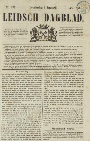 Leidsch Dagblad 1863