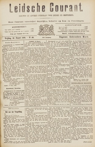 Leydse Courant 1889-03-22