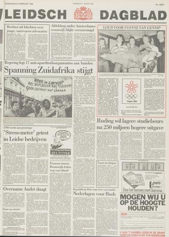 Leidsch Dagblad 1988-02-24
