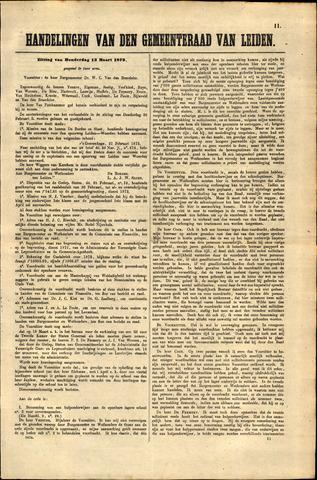 Handelingen van de Raad 1873-03-13