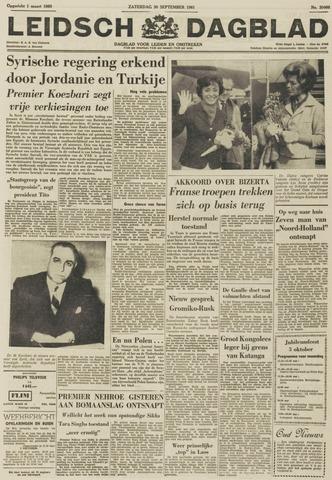 Leidsch Dagblad 1961-09-30