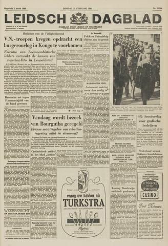 Leidsch Dagblad 1961-02-21
